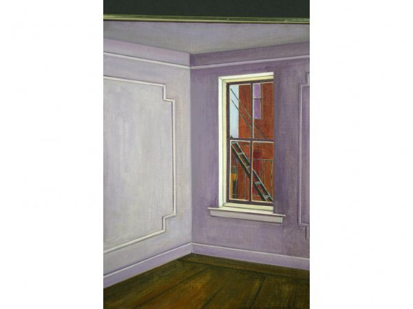 7: INTERIOR SCENE PAINTING BY CECILE GRAY BAZELON