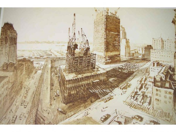10: 15 WORLD TRADE CENTER CONSTRUCTION PRINTS