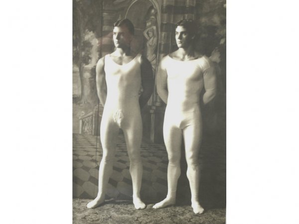 20: PHOTO GRAVURE OF MALE BALLET DANCERS