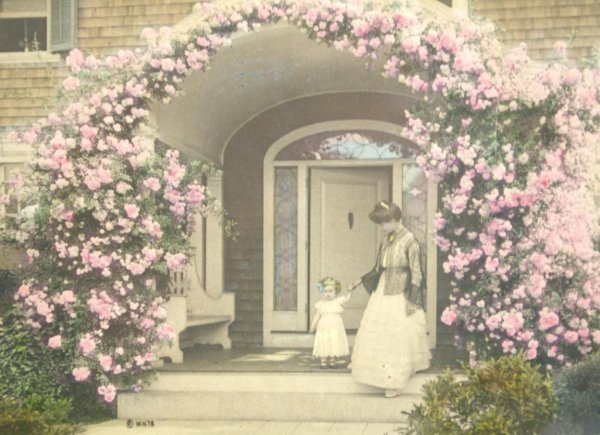 2: WALLACE NUTTING HAND-TINTED PHOTO