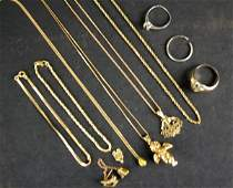 218 14K GOLD JEWELRY GROUP