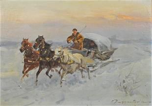 CZESLAW WASILEWSKI (Poland, 1875-1947)