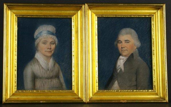 1: JAMES SHARPLES (American, 1751-1811)