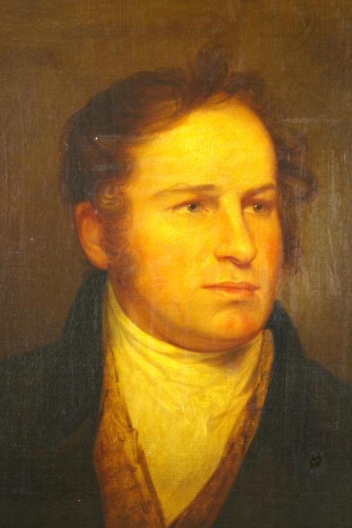 4: ATTRIBUTED TO REMBRANDT PEALE (Amer. 1778-1860)