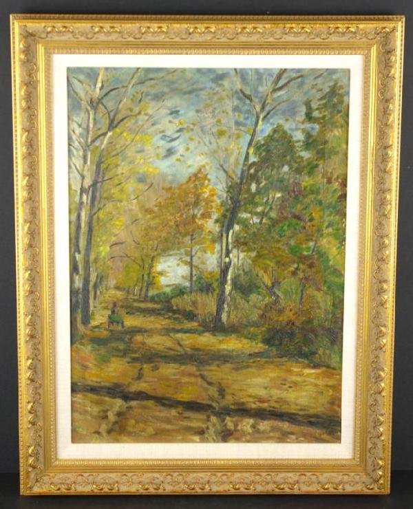 14: TWO LANDSCAPE PAINTINGS