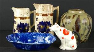 62 5PIECE COUNTRY CERAMIC GROUP