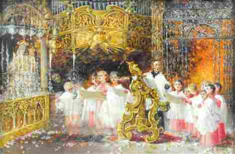 ANTONIO RIVAS (Italy/Spain, 1845-1911)