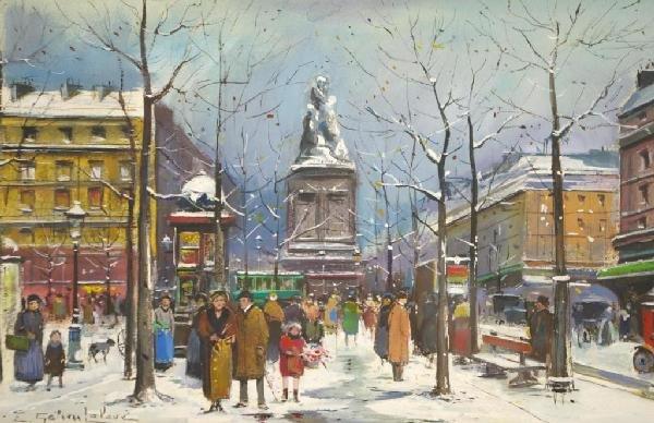 1: EUGENE GALIEN-LALOUE (French, 1854-1941)