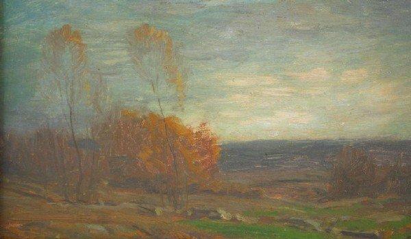 """4: GEORGE M. BRUESTLE (New York, 1871-1939) """"Evening, N"""