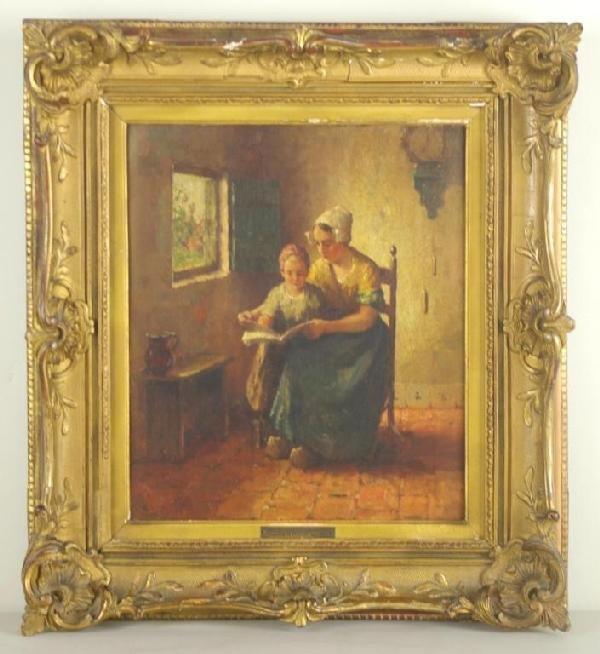 "12: EVERT JAN LIGTELIJN (Dutch, 1893-1975) ""The New Sto"
