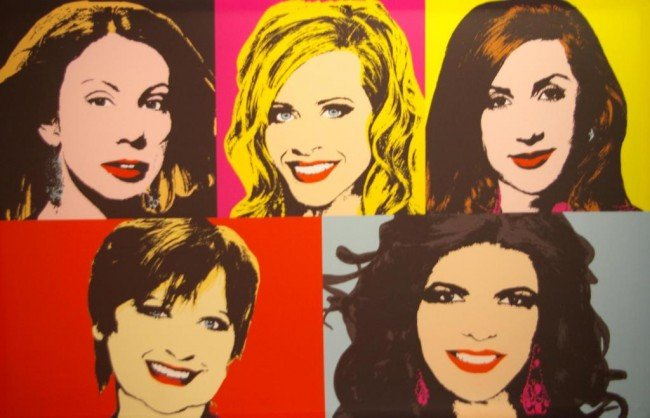 1: THE REAL HOUSEWIVES OF NEW JERSEY, FABRIC POSTER con