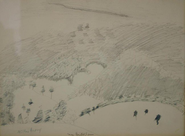 "2: MILTON AVERY (American, 1885-1965) ""New Bristol, Ten"