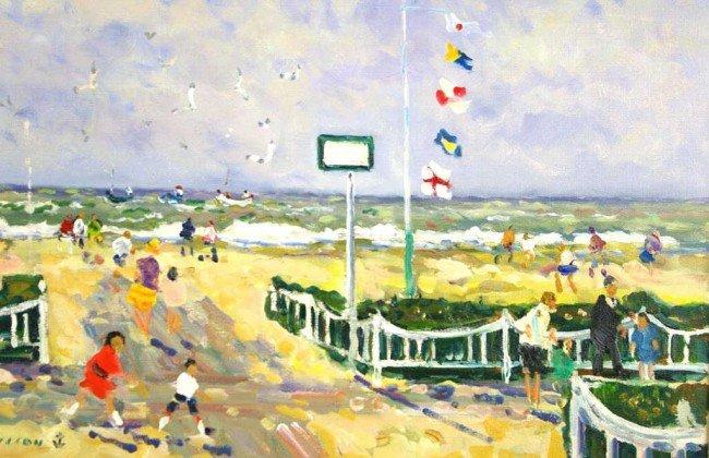 "7: JACQUES BOUYSSOU (French, 1926-1997) ""Temps Gris Tro"