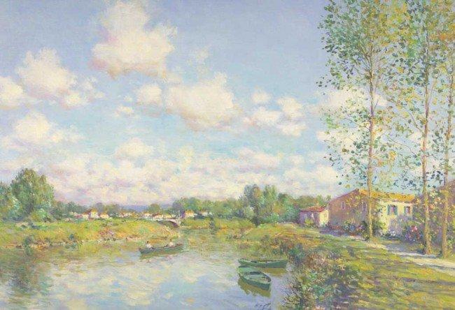 "9: JEAN KEVORKIAN (French, b.1933) ""Paysage Vendeen"", o"