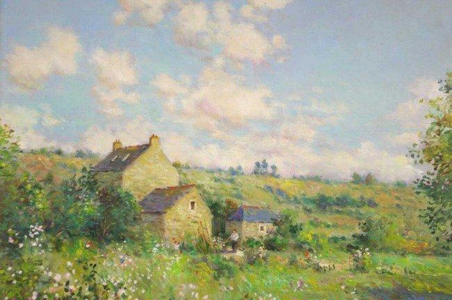 "10: JEAN KEVORKIAN (French, b.1933) ""Vieilles Maison"","