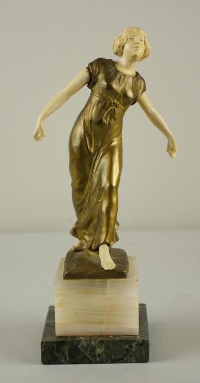 "11: JULIUS SCHMIDT-FELLING (German, 1895-1930) ""Figure"