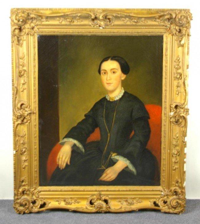 15: AMERICAN THREE-QUARTER LENGTH PORTRAIT OF A LADY oi