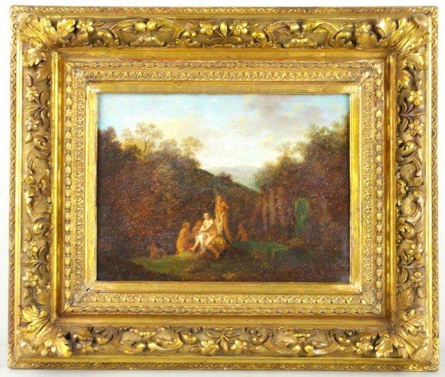 "17: MANNER OF CORNELIUS VAN POELENBURGH ""Diana and Her"