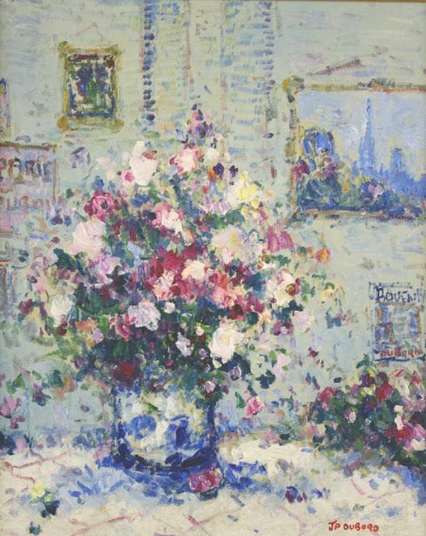 """21: JEAN PIERRE DUBORD (French, b.1949) """"Le Bouquet dan"""