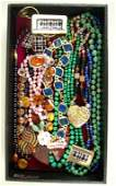 197: 21-PIECE COSTUME JEWELRY GROUP including some bead
