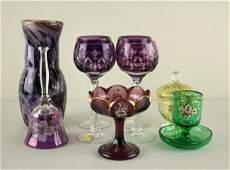 10-PIECE GLASS GROUP