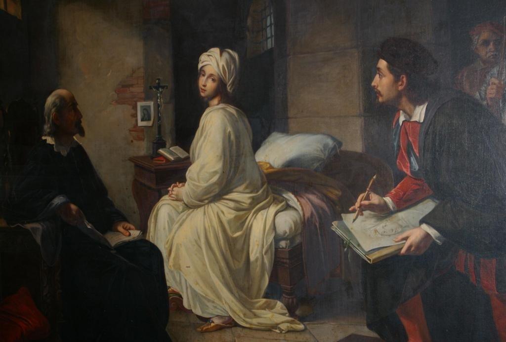1: ACHILLE LEONARDI (Italy, 1800-1870)
