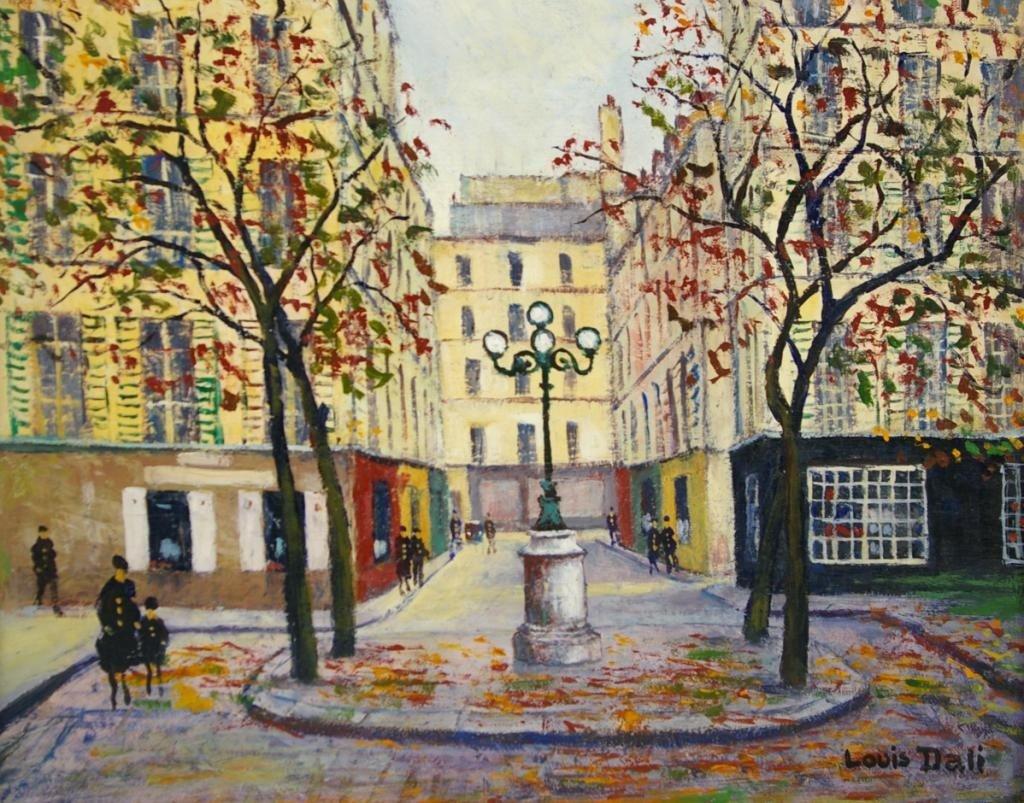12: LOUIS DALI (French, 1905-2001)