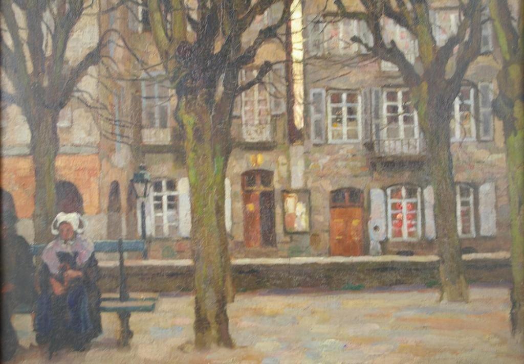 17: VIKTOR GILSOUL (Belgian, 1867-1939)