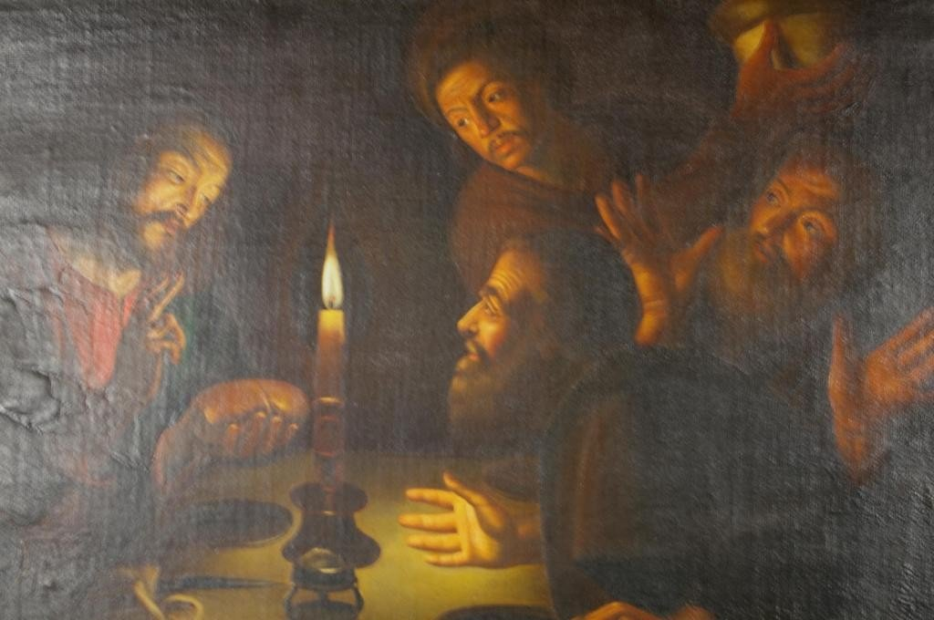 18: MANNER OF GERRIT VAN HONTHORST, THE LAST SUPPER