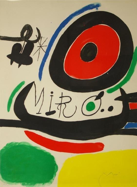 48: JOAN MIRO (Spanish, 1893-1983)