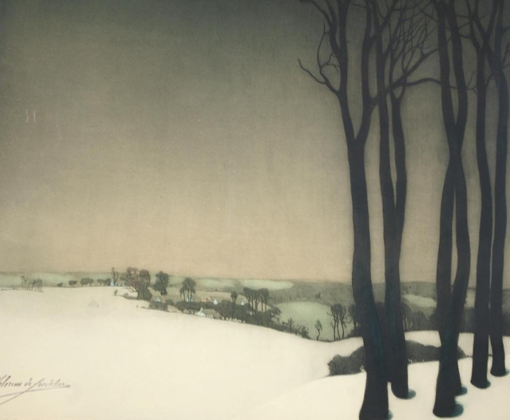17: ROGER HEBBELINCK (Belgian 1912-)