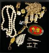 203 13PIECE COSTUME JEWELRY GROUP