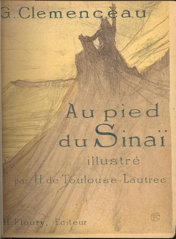 2: G. CLEMENCEAU - AU PIED DU SINAI, ASSOCIATION COPY