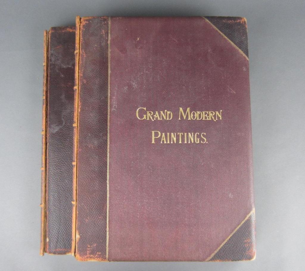 8: GRAND MODERN PAINTINGS, 1888 – 2 VOLS