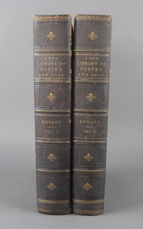 16: A NEW LIBRARY OF POETRY AND SONG – 2 VOLUMES