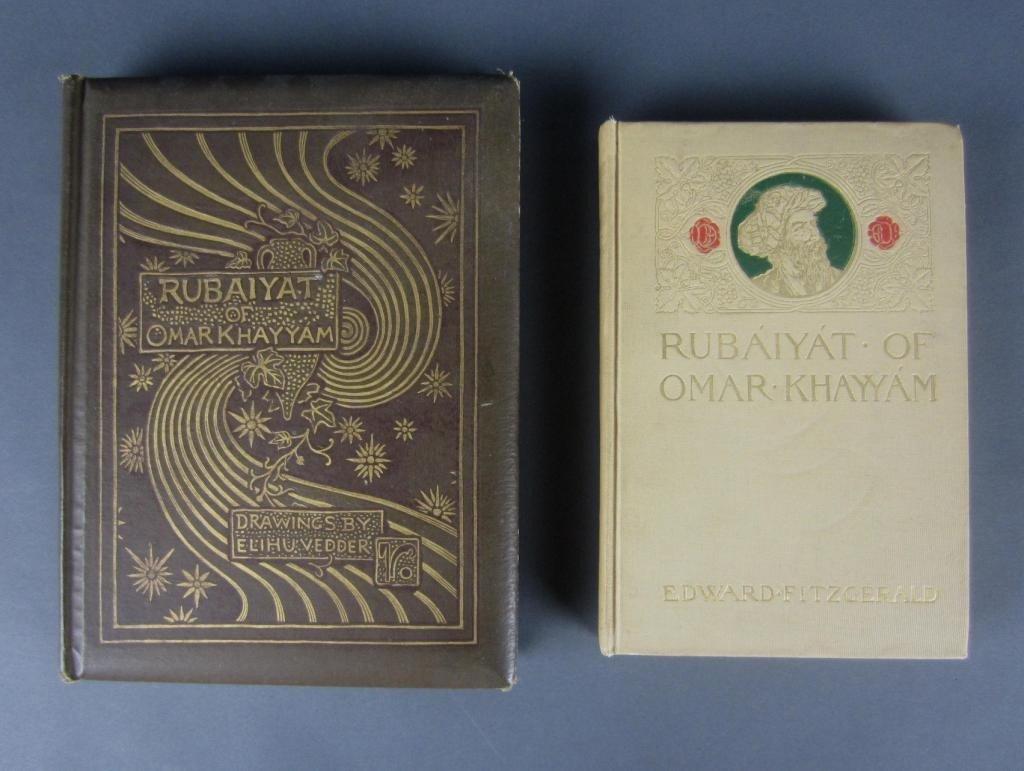 20: RUBAIYAT OF OMAR KHAYYAM – TWO BOOKS