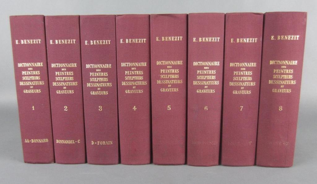 21: E. BENEZIT DICTIONARY OF ARTISTS – 8 VOLUME SET