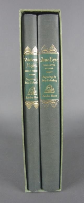 24: JANE EYRE AND WUTHERING HEIGHTS – TWO VOLUME SET