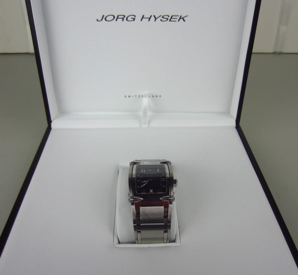 138: JORG HYSEK V-KING GENTS AUTOMATIC WRISTWATCH