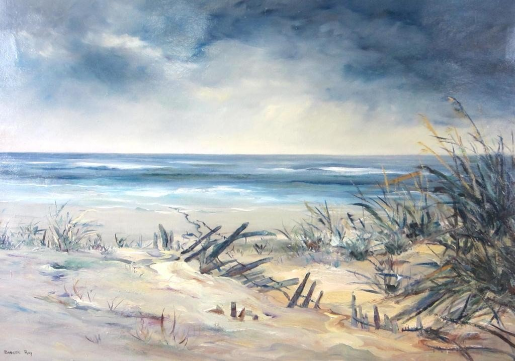 49: PAINTING BY LOCAL ARTIST BABETTE ROY
