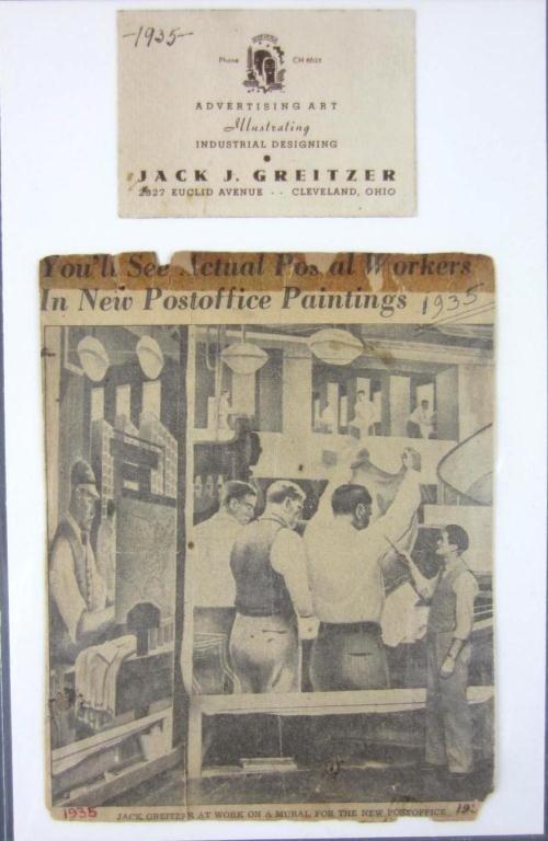 19: JACK J. GREITZER (American, 1910-1989) - 4