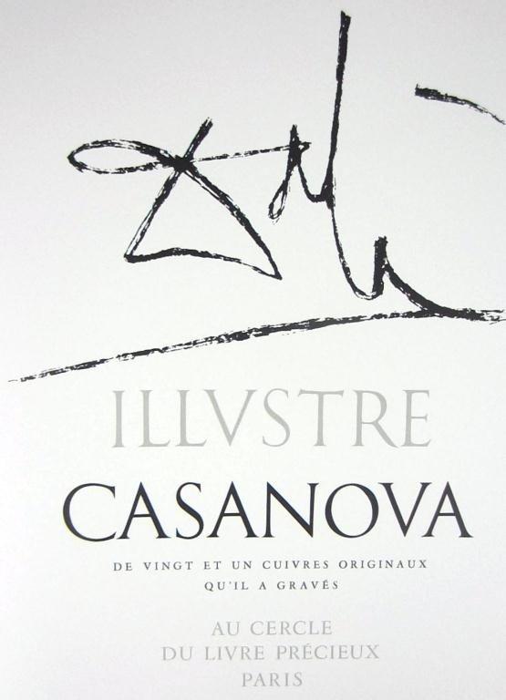 33: SALVADOR DALI - ILLUSTRE CASANOVA, 1967