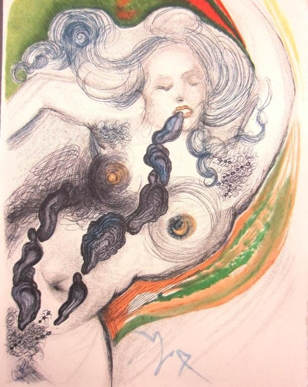 33: SALVADOR DALI - ILLUSTRE CASANOVA, 1967 - 5