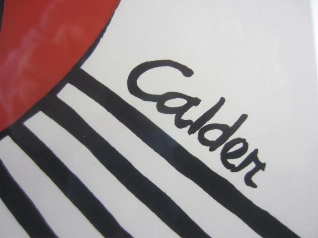35: ALEXANDER CALDER SCREENPRINT - 3