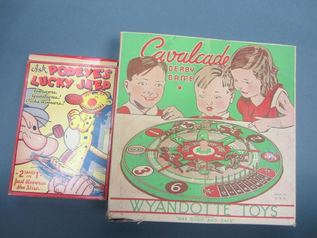 323: GROUP OF FOUR VINTAGE COLLECTIBLE TOYS AND GAMES - 2