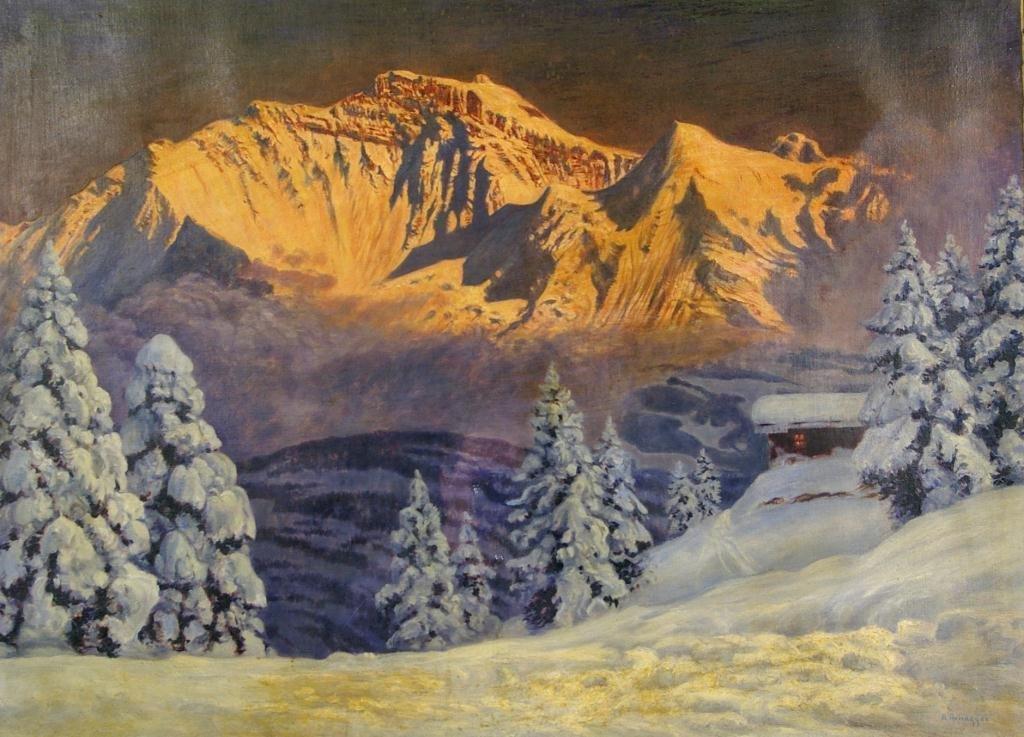1: ALOIS ARNEGGER (Austrian, 1879-1967)