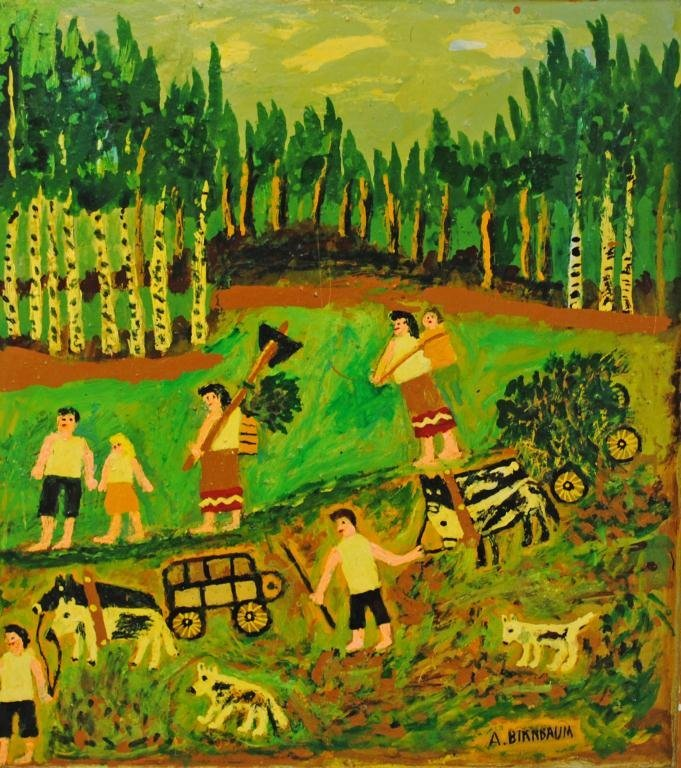 24: AARON BIRNBAUM (New York, 1895-1998)