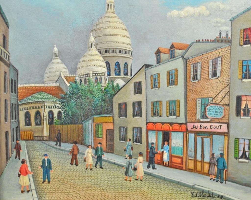 78: EMIL BLONDEL (French, 1893-1970)