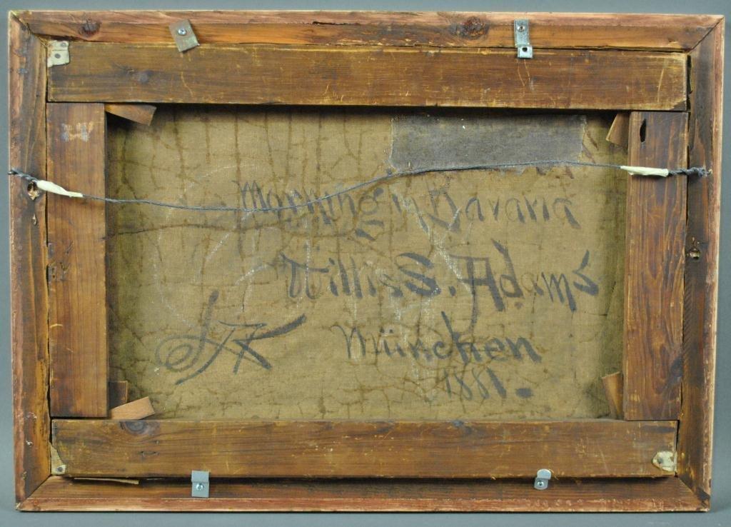 182: WILLIS SEAVER ADAMS (Massachusetts, 1844-1921) - 5