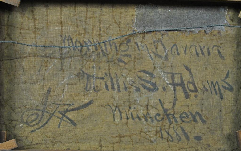 182: WILLIS SEAVER ADAMS (Massachusetts, 1844-1921) - 6